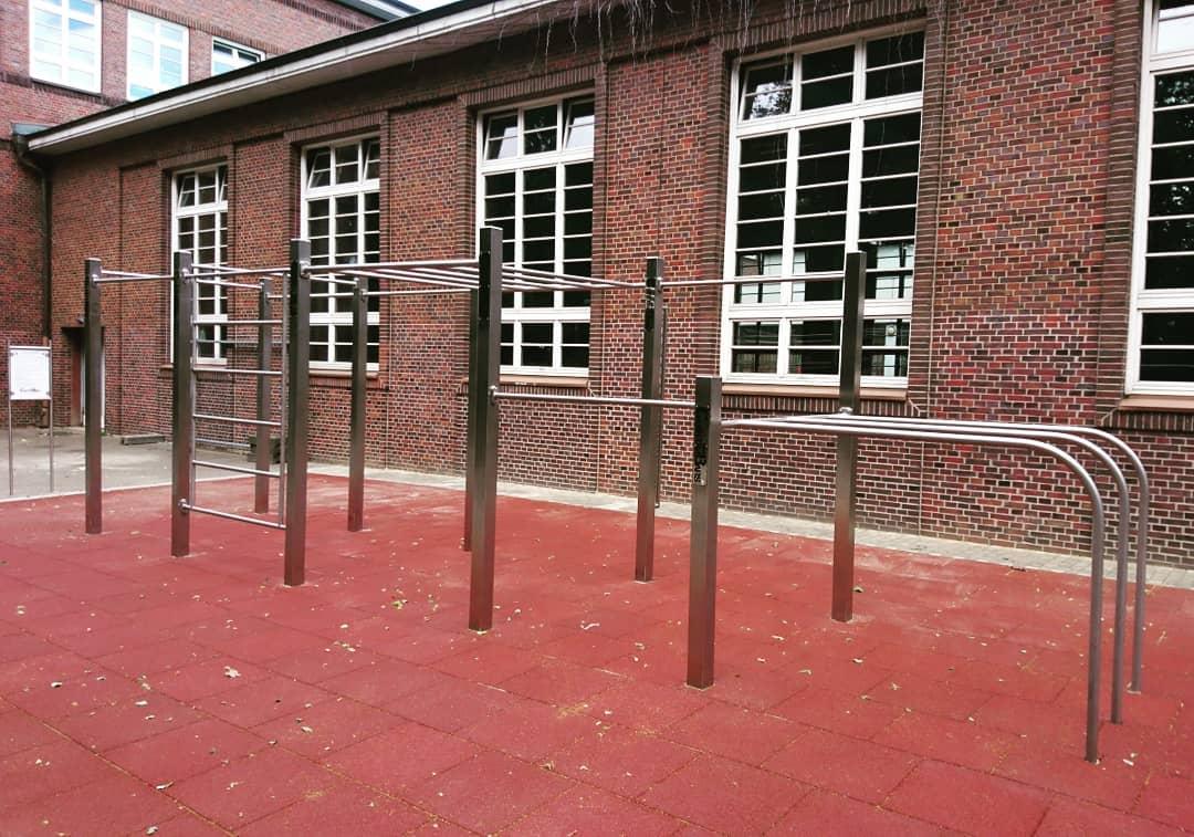 Edelstahl Calisthenics Park in Hamburg CB Competition