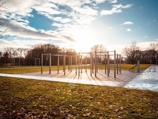 Größter Calisthenics Park Deutschlands