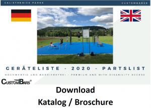 Calisthenics Park Katalog CustomBars