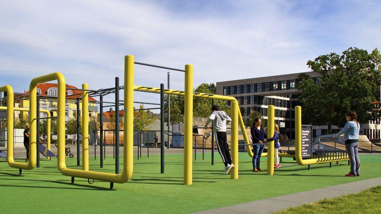 Riesiger Calisthenics Park in Bielefeld!