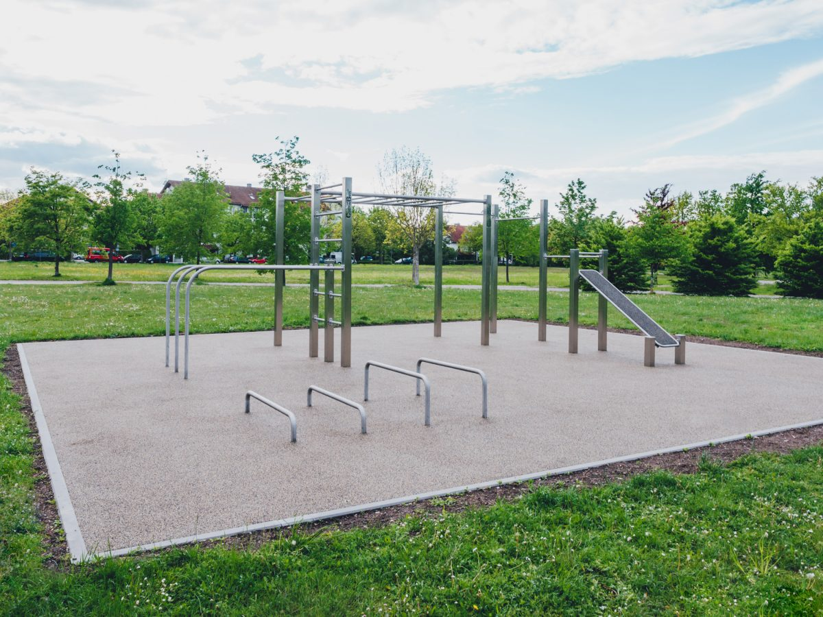 Calisthenics Park Unterschleissheim CB Medium